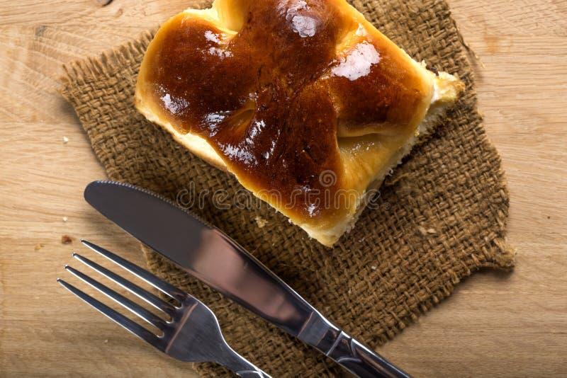 Tarte de fromage frais image stock