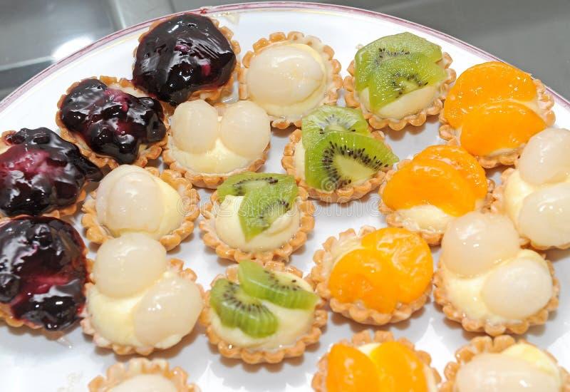 Tarte de fruit frais photographie stock libre de droits