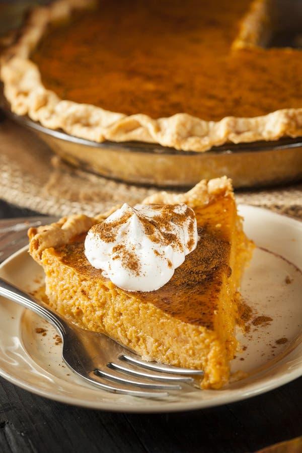 Tarte de potiron fait maison pour Thanksigiving images stock