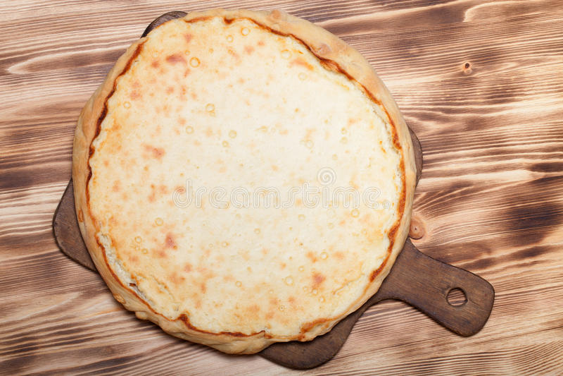 Tarte frais avec le fromage blanc photos libres de droits