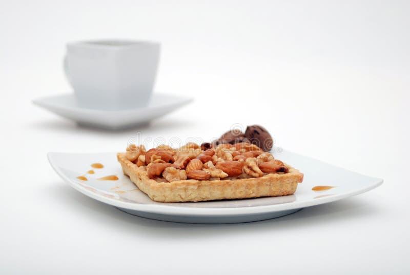Tarte Nuts image libre de droits