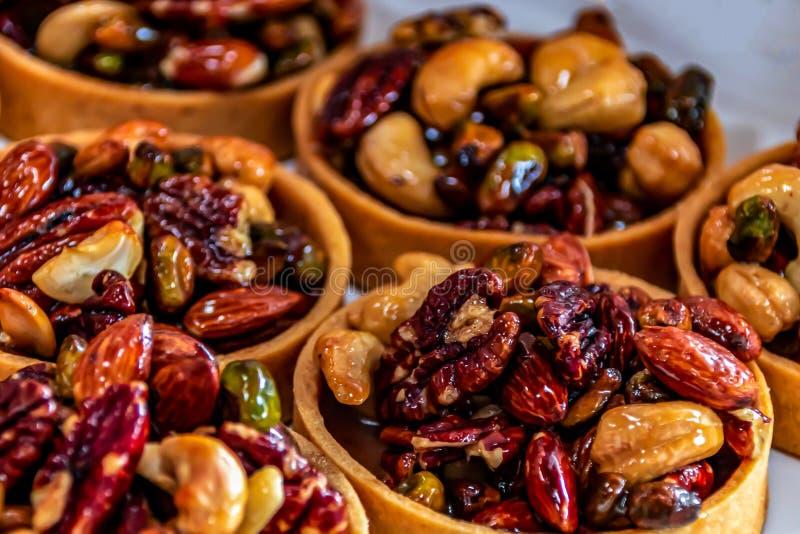 Tartes de Nute Frescas fotografia de stock