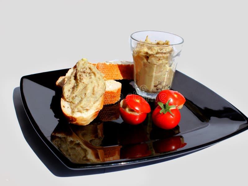 Tartlet με creme τόνου στοκ εικόνες με δικαίωμα ελεύθερης χρήσης