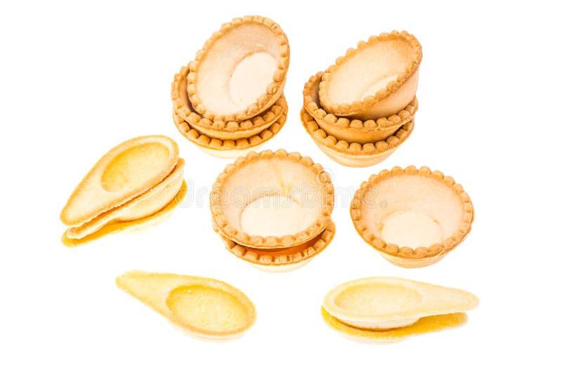 Tartlets από την κοντή ζύμη στοκ εικόνα με δικαίωμα ελεύθερης χρήσης