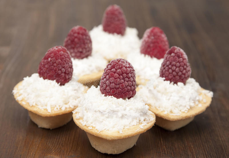 Download Tartlets With Protein Cream Stock Image - Image: 37113115