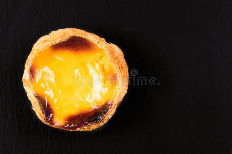 Tarts ή pasteis de nata αυγών στοκ φωτογραφία