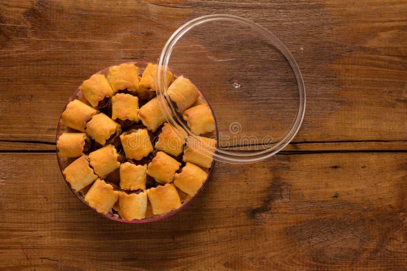 Tarts ανανά μπισκότα στοκ εικόνες