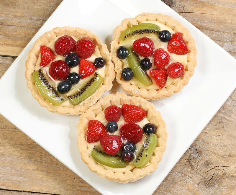 Tarts φρούτων στοκ εικόνες