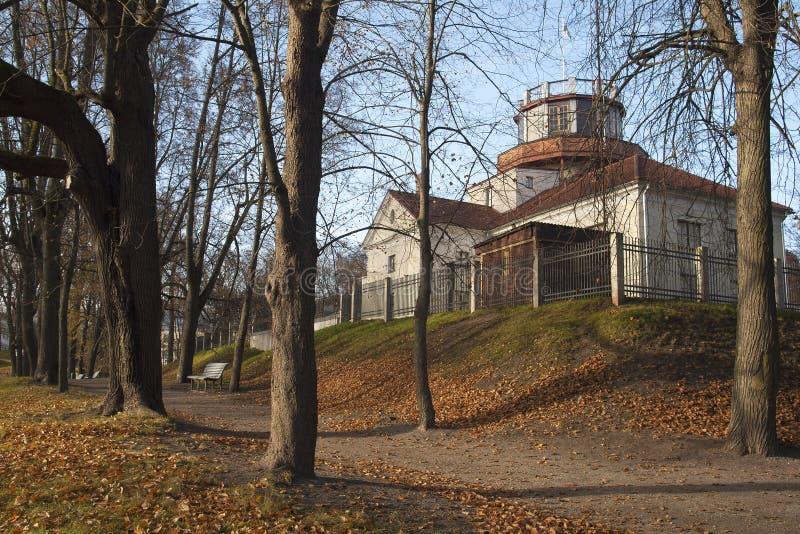 Tartu observatorium royaltyfria bilder