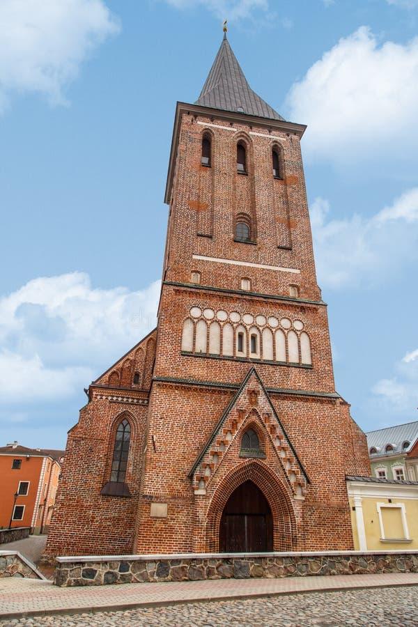 Tartu St John Church stock foto's
