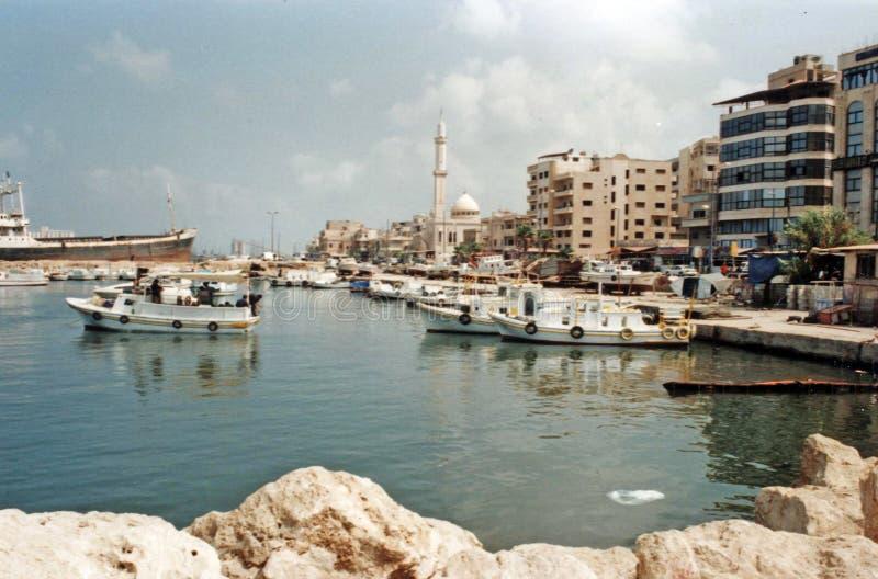 Tartus port fotografering för bildbyråer