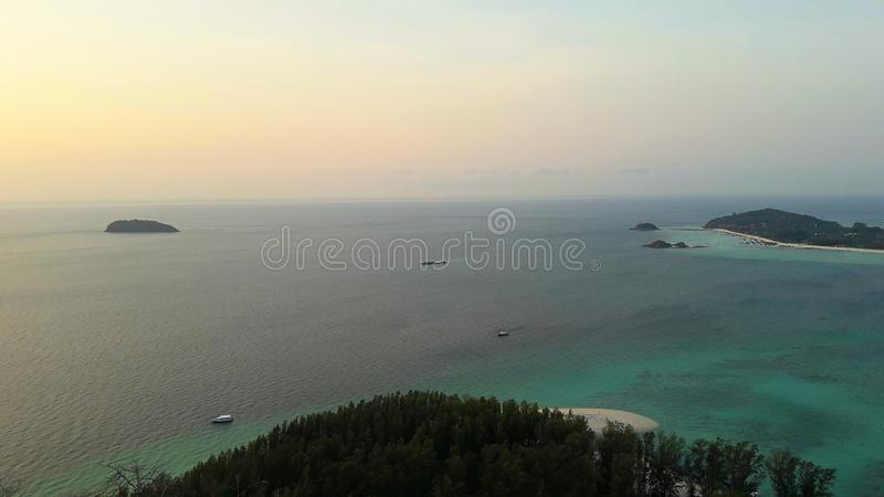 Tarutao Marine National Park Province de Satun photo stock
