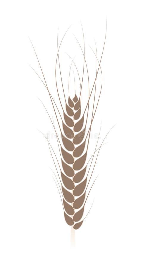 Tarwe vector illustratie