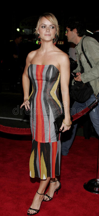 Taryn Manning. HOLLYWOOD, CALIFORNIA. November 2, 2005. Taryn Manning at the Paramount Pictures' Get Rich or Die Tryin' Los Angeles Premiere at the Grauman's royalty free stock photos