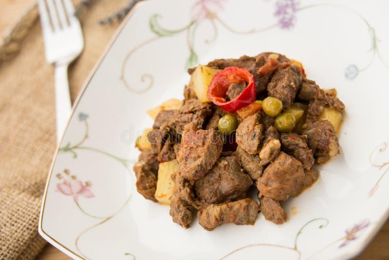 Tas Kebabi/türkisches Fleisch-Lebensmittel stockfoto