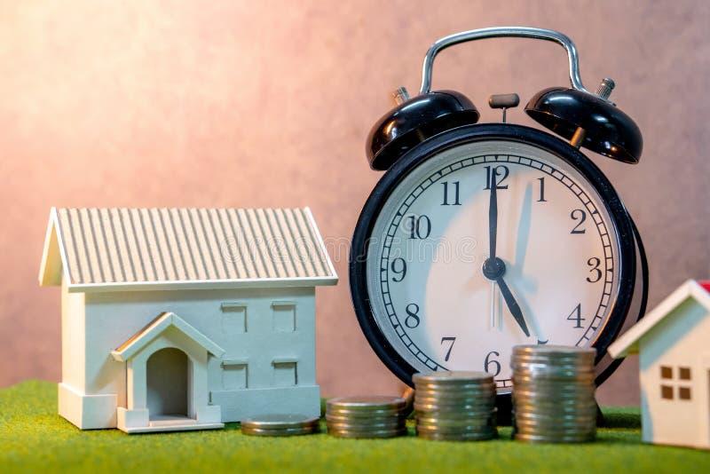 Tasa de préstamo de la inversión inmobiliaria o de la hipoteca casera Ladd de la propiedad fotografía de archivo