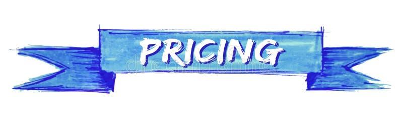 tasación de la cinta stock de ilustración