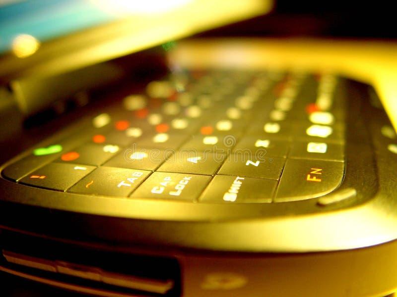 Tasche PC lizenzfreies stockbild
