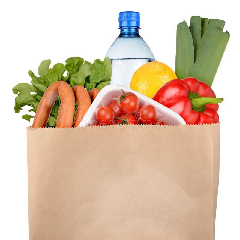 Tasche von Lebensmittelgeschäften stockfotografie