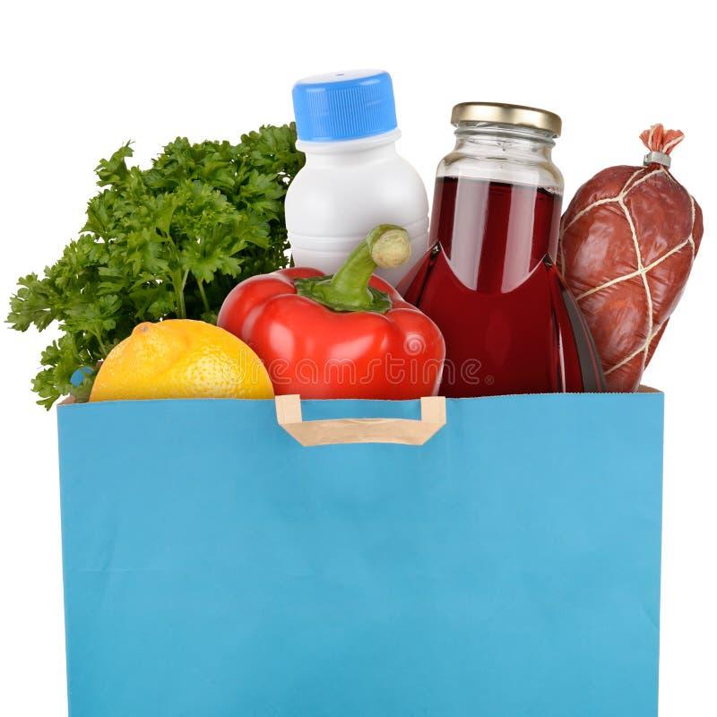 Tasche von Lebensmittelgeschäften stockfoto