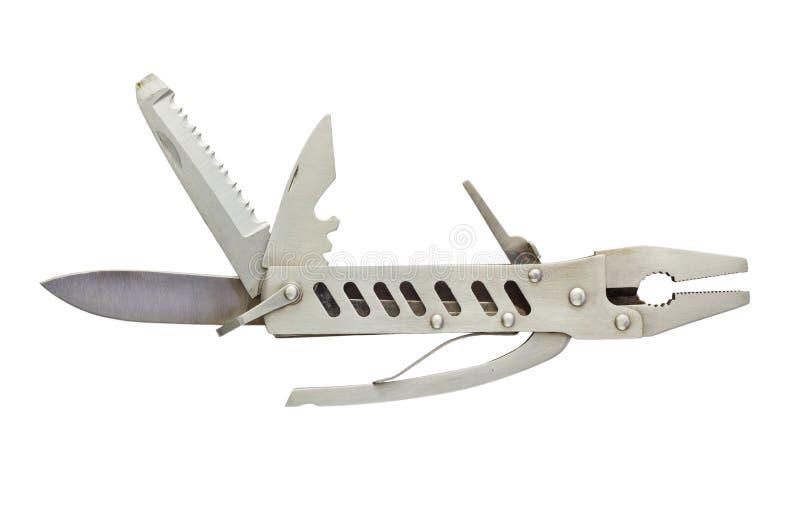 Taschen-Messer-Werkzeuge stockfoto