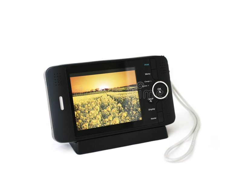 Taschen-Multimedia-Projektor lizenzfreies stockfoto