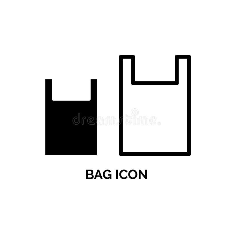Taschen-Vektor-Ikone vektor abbildung