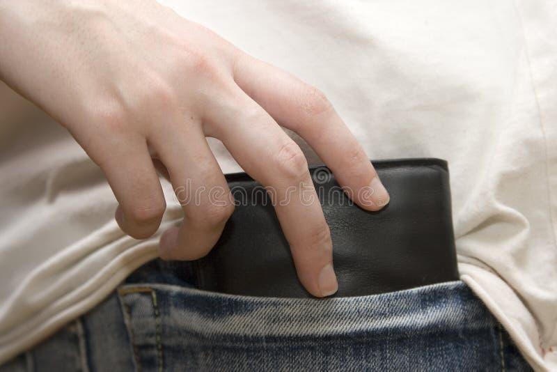 Taschendieb lizenzfreies stockbild