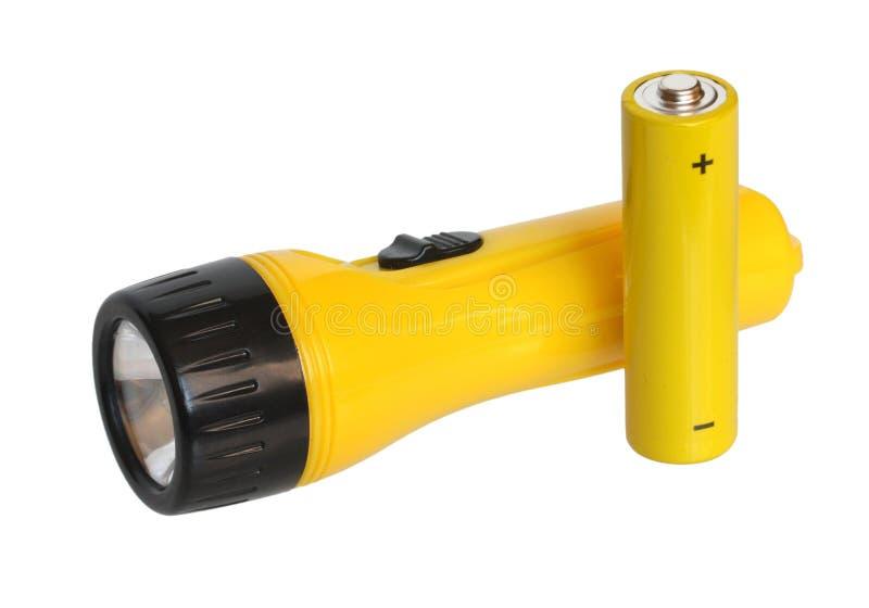 Taschenlampe. lizenzfreie stockfotografie