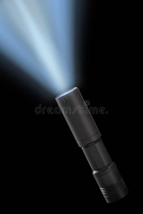 Taschenlampe lizenzfreie stockfotos