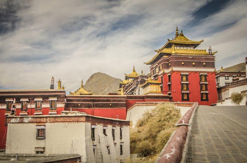 Tashi Lhunpo Monastery fotos de stock