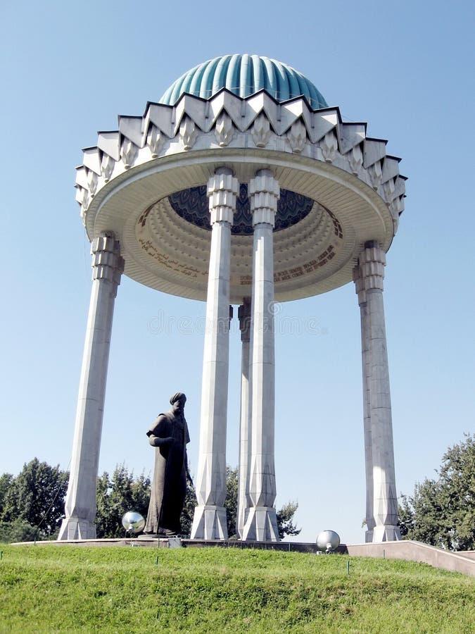 Tashkent Alisher Navoi Memorial 2007 fotos de archivo