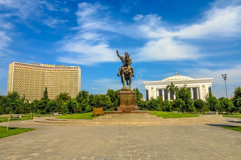 Tashkent Amir Timur Statue photo libre de droits