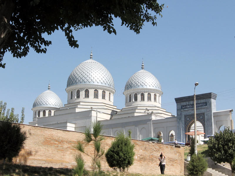 Tashkent Juma meczet 2007 fotografia stock