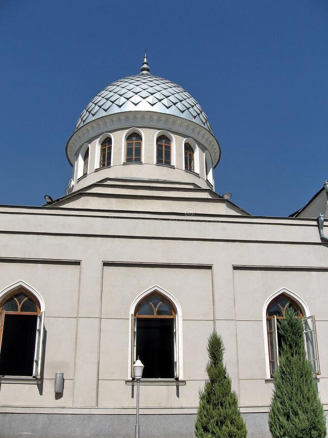 Tashkent Juma Meczetowa kopuła Wrzesień 2007 obraz stock