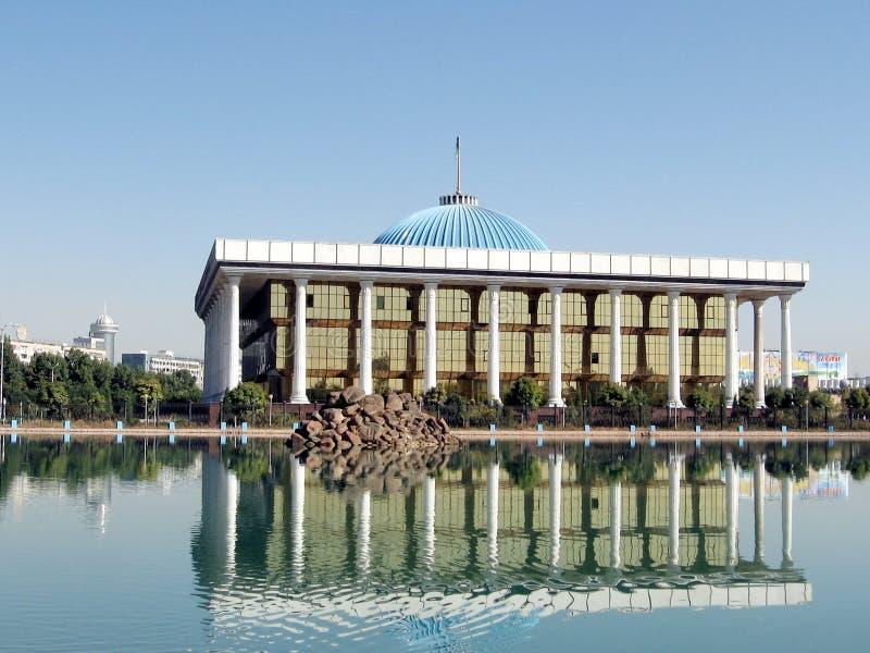 Tashkent Majlis y su reflexión 2007 imagen de archivo libre de regalías