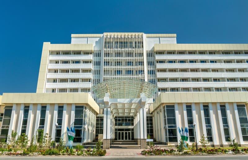 Tashkent Medyczna akademia w Urgench, Uzbekistan zdjęcia stock