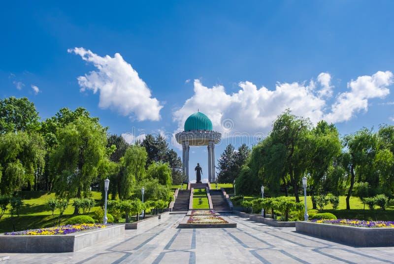 TASHKENT, OEZBEKISTAN - 02 Mei 2019 - Alisher Navoi National Park stock afbeeldingen
