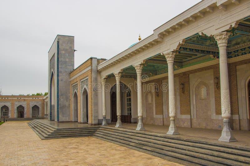 Tashkent Uzbekistan, Marzec, - 21, 2016: Pamiątkowy kompleks imam obraz stock