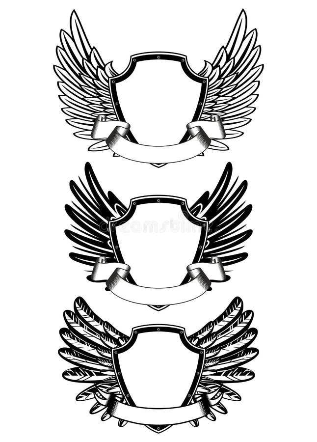 tasiemkowa osłona royalty ilustracja