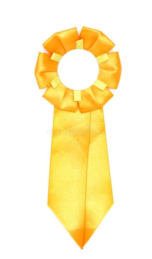 tasiemkowy żółty obrazy royalty free