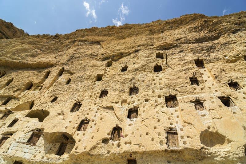 Taskale historische graanschuuren Karaman/Turkije royalty-vrije stock afbeeldingen