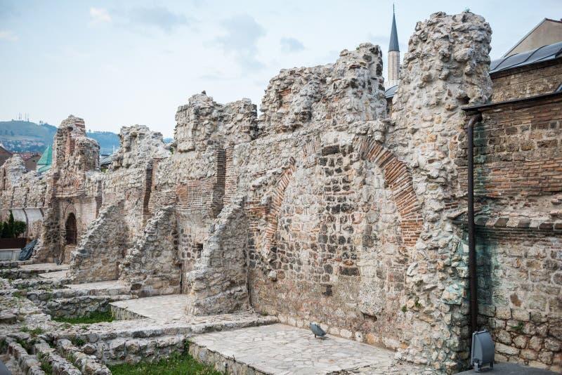 Taslihan в Сараеве стоковые фотографии rf