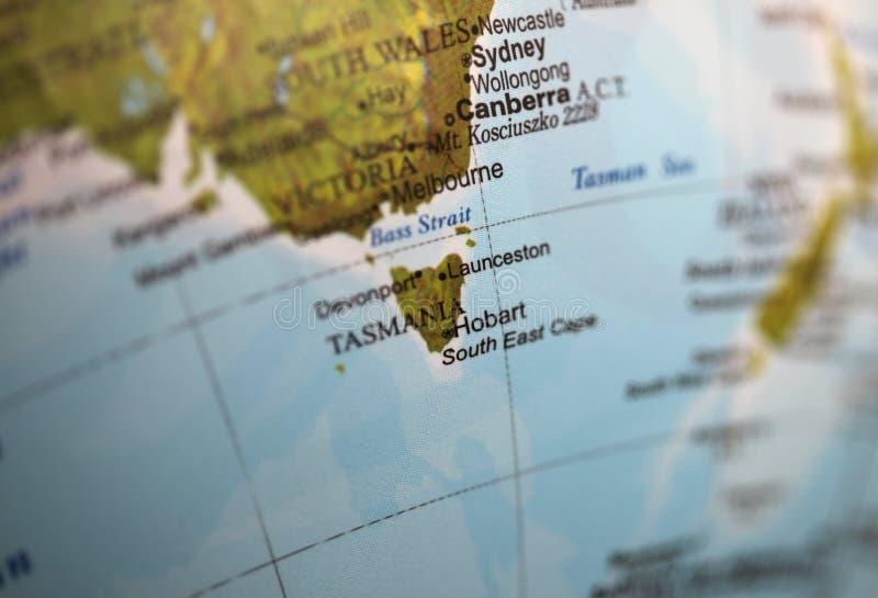 Tasmânia imagem de stock