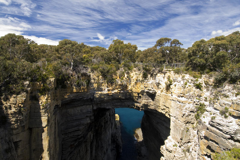 Tasman-Bogen, Nationalpark Tasman, Tasmanien, Australien stockbilder