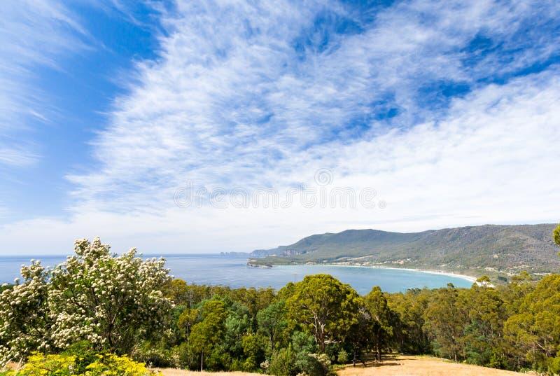 Tasman Halbinsel, Tasmanien lizenzfreies stockfoto