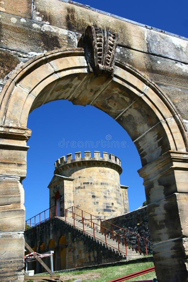 Tasmania historical site royalty free stock photos