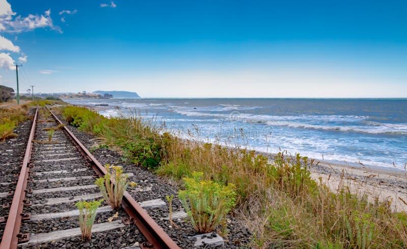 Tasmania linia brzegowa, Nieporuszony piękno zdjęcie stock