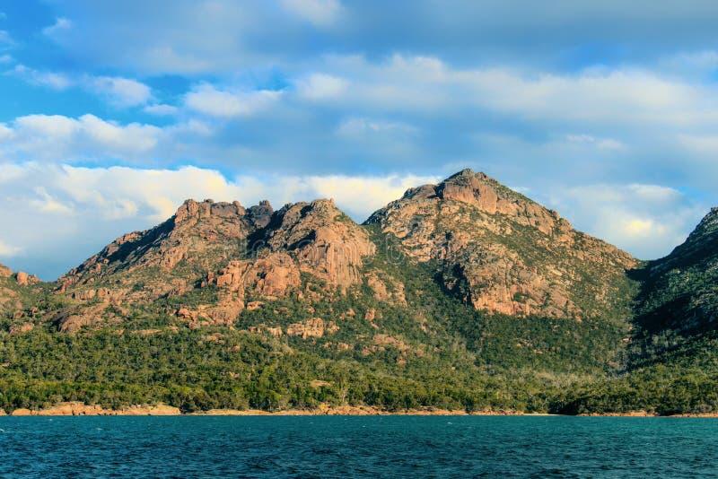 Tasmanian wschodnie wybrzeże obraz stock