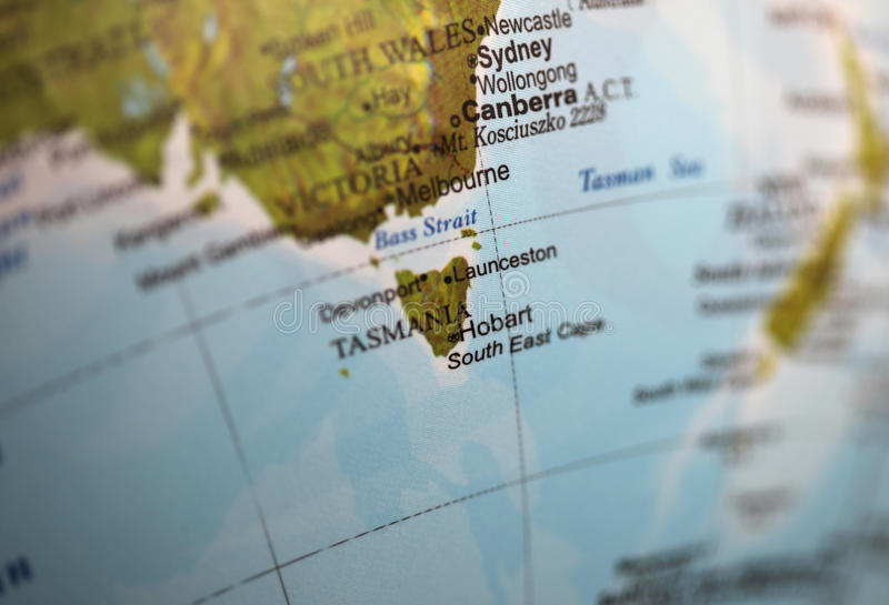 Tasmanien stockbild